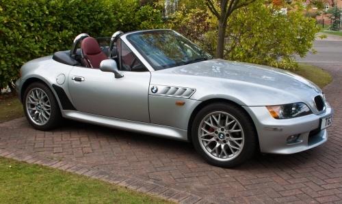BMW-Z3-gris