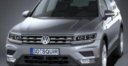 Volkswagen Tiguan Allspace 2018: precios, ficha técnica y fotos