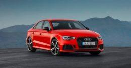 Audi RS 3 Sedan y Audi RS 3 Sportback 2017 – Precios, ficha técnica y fotos