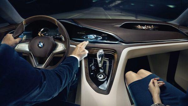 BMW X8 2021 interior