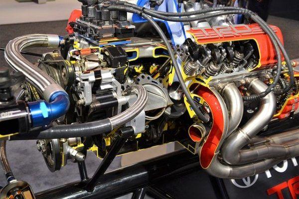 Partes del bloque del motor de combustion interna