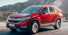 Honda CR-V 2019: precio, ficha técnica y fotos
