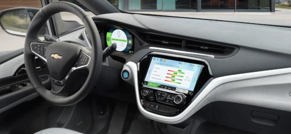 Chevrolet Bolt 2021: precio, ficha técnica y fotos pantalla delantera