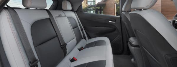 Chevrolet Bolt 2021: precio, ficha técnica y fotos tapizado