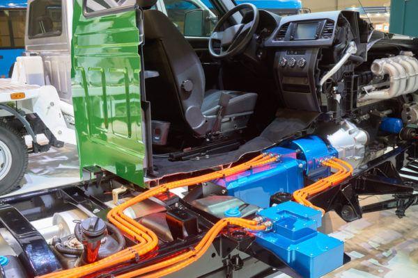 Cuales son las partes de un motor de coche hibrido