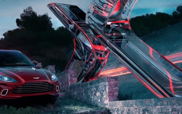 Aston Martin DBX 2021 diseño