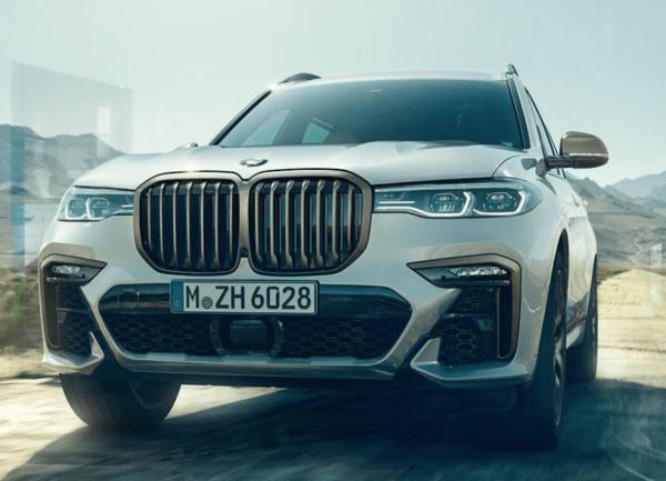BMW X8 2021 frontal