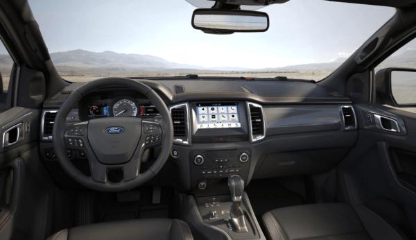 Ford Ranger Thunder 2021  interior