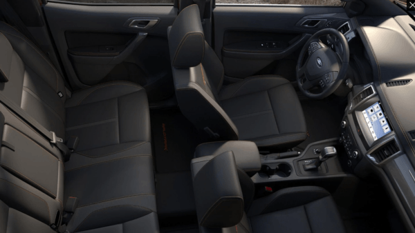 Ford Ranger Thunder 2021 espacio