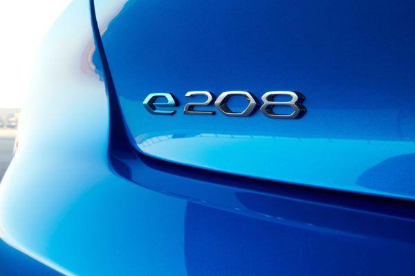 Peugeot 208 2021 eléctrico