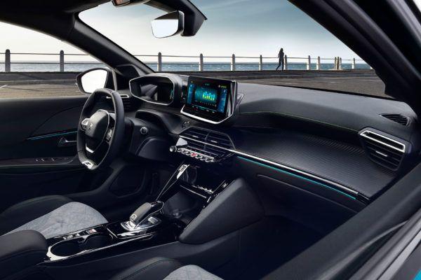 Peugeot 208 2021 interior