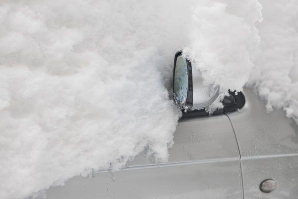 Como hielo coche para no danarlo