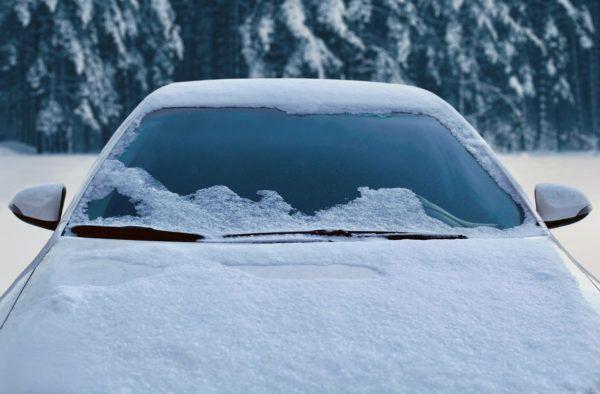Como hielo nieve coche para no dañar