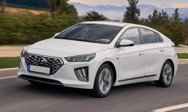 Los mejores coches híbridos en 2021 Hyundai Ioniq Híbrido