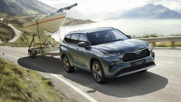 Los mejores coches todoterreno 2021 Toyota Highlander
