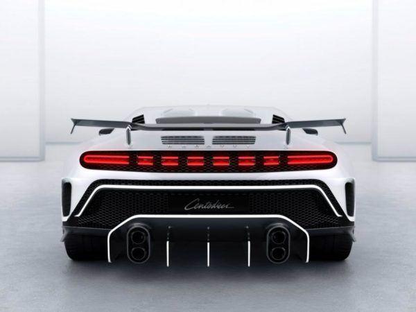 Bugatti Centodieci: precio, ficha técnica y fotos escapes