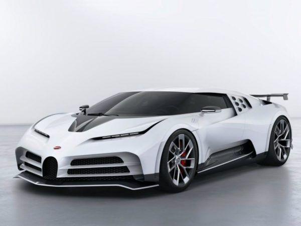 Bugatti Centodieci: precio, ficha técnica y fotos frontal