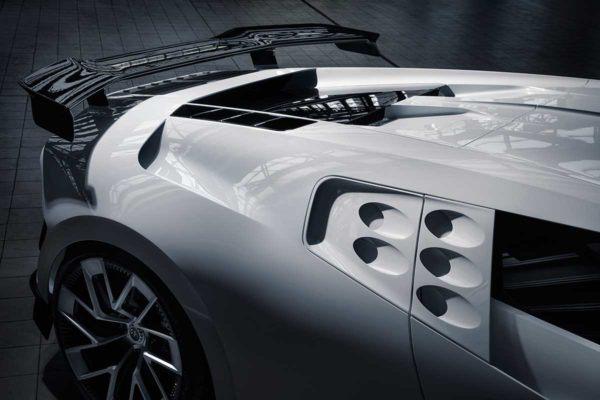 Bugatti Centodieci: precio, ficha técnica y fotos aerodinámica