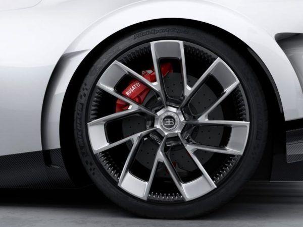 Bugatti Centodieci: precio, ficha técnica y fotos llantas y frenos
