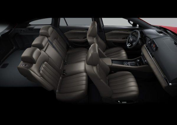 Mazda 6 2021: precio, ficha técnica y fotos asientos cuero