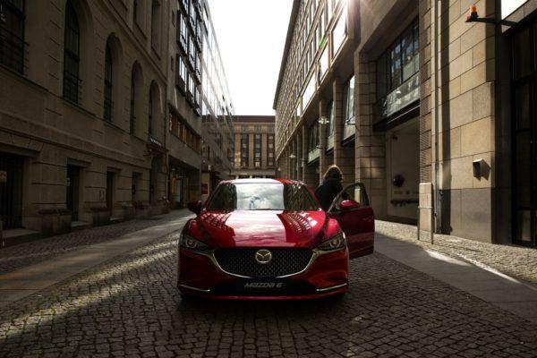 Mazda 6 2021: precio, ficha técnica y fotos parrilla