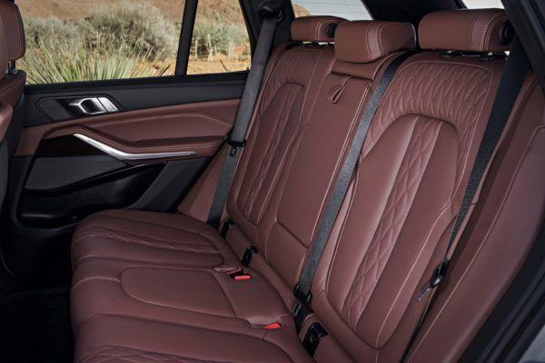 BMW X5 2021: precio, ficha técnica y fotos espacio asientos