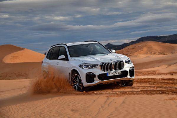 BMW X5 2021: precio, ficha técnica y fotos parrilla