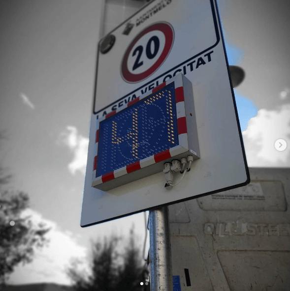Multas por exceso de velocidad: límites, multas y la pérdida de puntos vía urbana