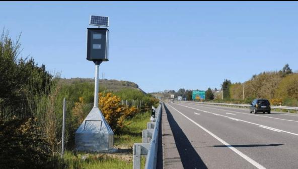 Multas por exceso de velocidad: límites, multas y la pérdida de puntos radar fijo