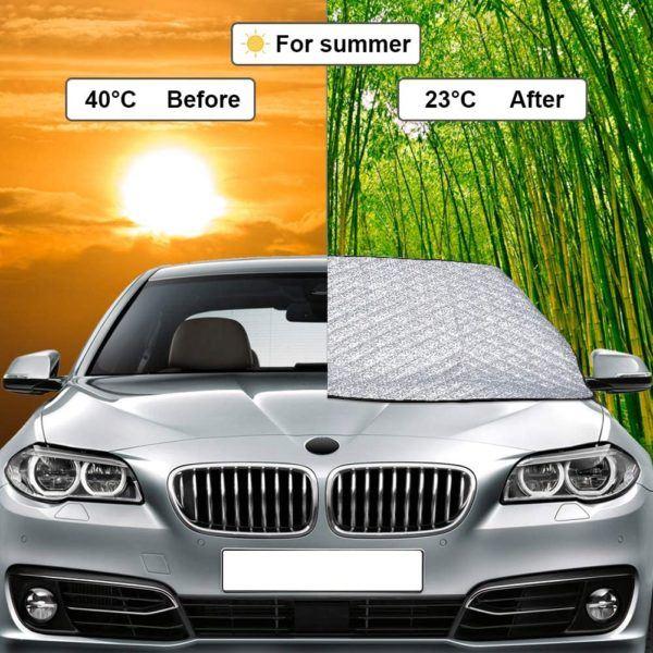 Mejores accesorios para tu vehiculo en verano parasol