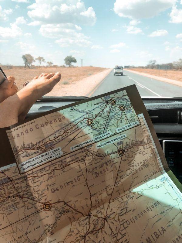 Los mejores preparativos y consejos para hacer un viaje largo en coche durante las vacaciones mapas