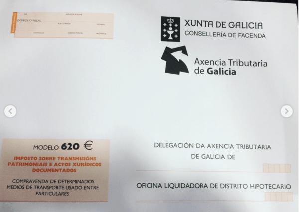 ¿Qué es el Modelo 620 de la DGT? Dónde se puede descargar y cómo pagar este impuesto de modo online Modelo 620 Galicia