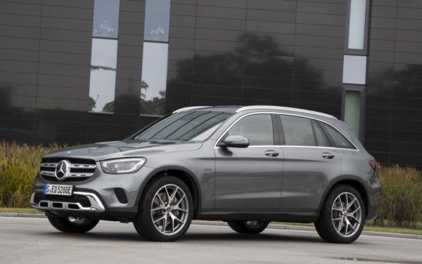 Los mejores coches híbridos enchufables de 2022 Mercedes GLC
