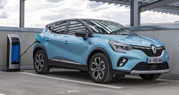 Los mejores coches híbridos enchufables de 2022 Renault Captur e-Tech