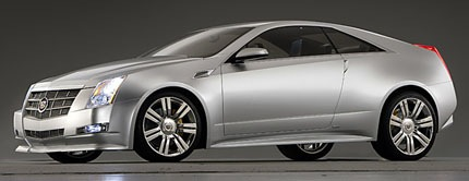 cadillac_CTS_coupe_concept front_three_quarter_view