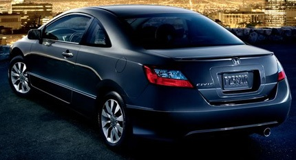 Honda Civic Coupe 2009 5