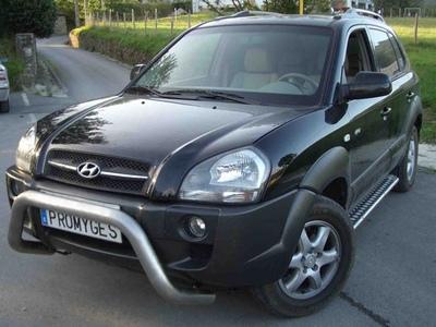 Hyundai Tucson negra